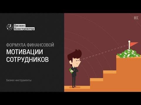 Формула финансовой мотивации сотрудников